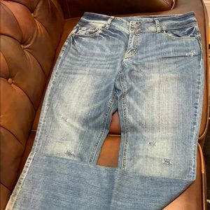 VS London Jeans women's distressed jeans size 10